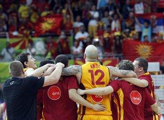 Košarkaši Makedonije