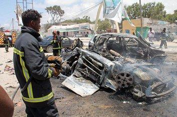 Somalija, Mogadiš, eksplozija