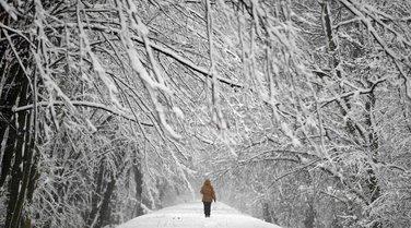 Poljska, snijeg