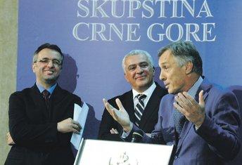 Miodrag Lekić, Andrija Mandić, Goran Danilović