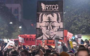 Sa građanskog protesta Odupri se 97000, u Podgorici