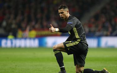 Ronaldo na meču sa Atletikom