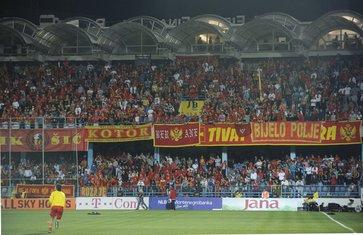Crna Gora, Engleska, navijači