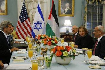 Džon Keri, Izrael i Palestina