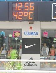 vrućina, Podgorica, ljeto