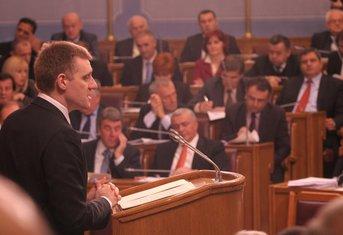 Igor Lukšić Skupština