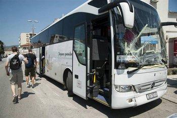 Kamenovani autobus