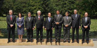 Lideri regiona na Brdu kod Kranja