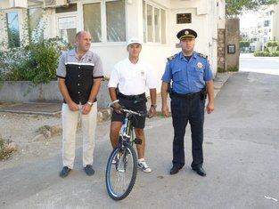 Biciklistička patrola u Tivtu