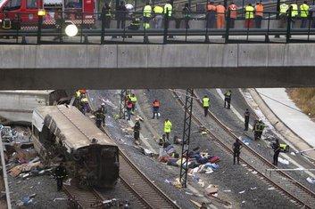Španija voz nesreća