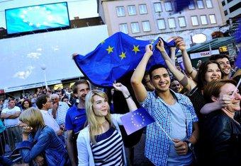 Proslava ulaska Hrvatske u EU