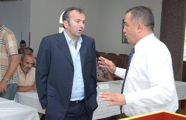 Dejan Savićević i Mihailo Đurović