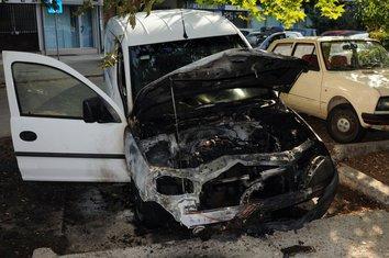 Zapaljeno vozilo Vijesti