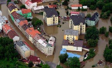 Češka, poplave