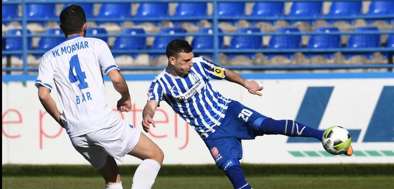 Miloš Mijić (Busućnost) je postigao jedan od najljepših golova u ovom kolu