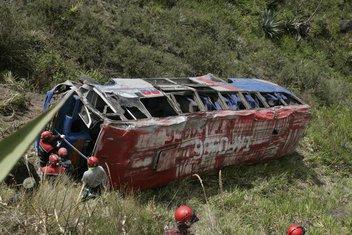 Nesreća Ekvador, Autobus