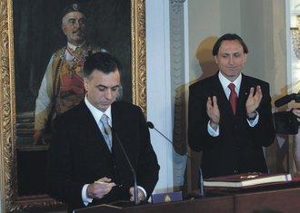 Filip Vujanović, Ranko Krivokapić
