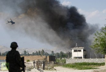 Avganistan, NATO baza , napad