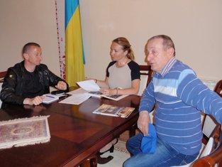 Oksana Sljusarenko, Neđeljko Burzanović, Milan Madžgalj