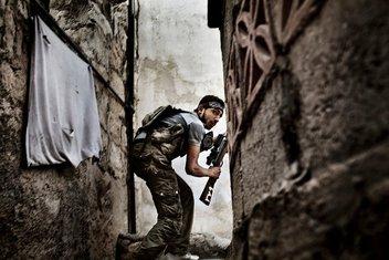 Sirija, Alepo, pobunjenik