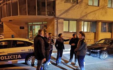 Funkcioneri GP URA večeras ispred policije u Podgorici