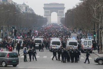 Pariz, protest protiv gej brakova