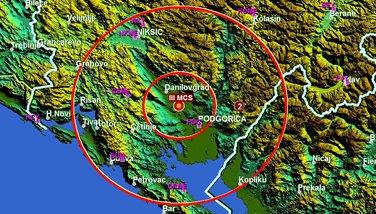 zemljotres PG