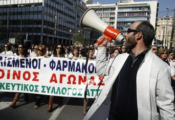 protesti u Atini