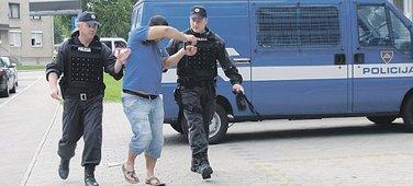 Slovenije, hapšenje