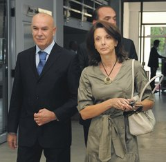 Milica Pejanović Đurišić, Boro Vučinić