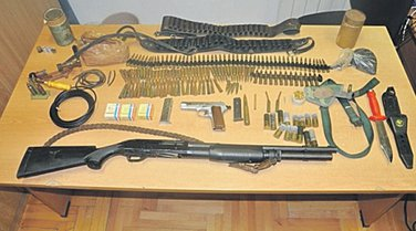 municija, Danilovgrad