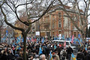 Mađari, protest, Rumunija