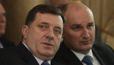 Milorad Dodik i Aleksandar Džombić