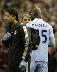 Mario Baloteli i Roberto Manćini