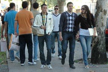 šetnja, Podgorica