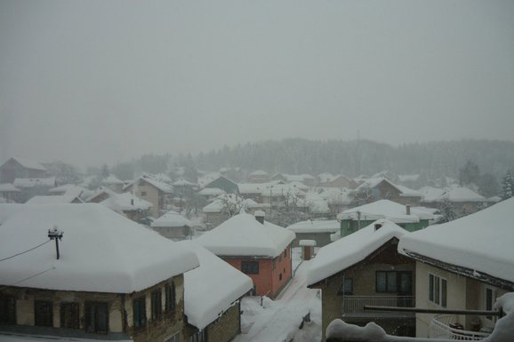 Pljevlja, snijeg