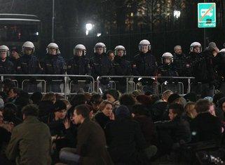 Beč, protest