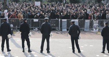 protest, krizni porez