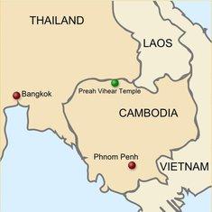 Granica Kambodža-Tajland
