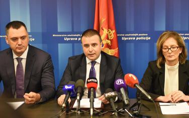 Sa presa Uprave policije na kojem se govorilo o ubistvu Kruščića i ranjavanju Lakić