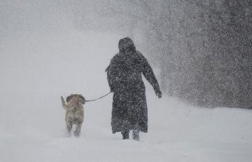 Snijeg, Kanada