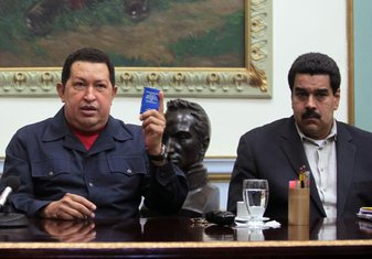 Ugo Čaves, Nikolas Maduro