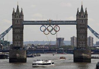 London, Tauer Bridž, Olimpijske igre 2012.