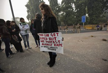 Indija protest žene