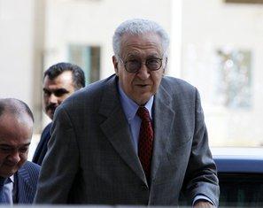 Međunarodni posrednik Lakhdar Brahimi