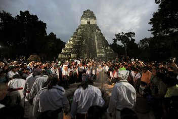 drevni hram, Gvatemala