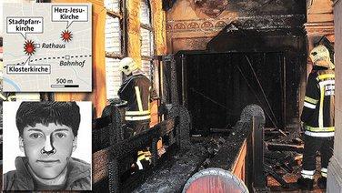 Austrija požar crkve