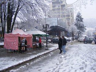 snijeg, Bijelo Polje