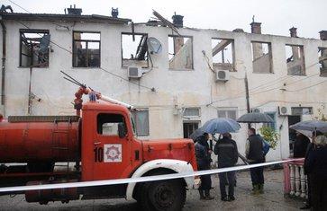 požar zgrada stara Mašinska škola