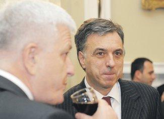Filip Vujanović, Duško Marković